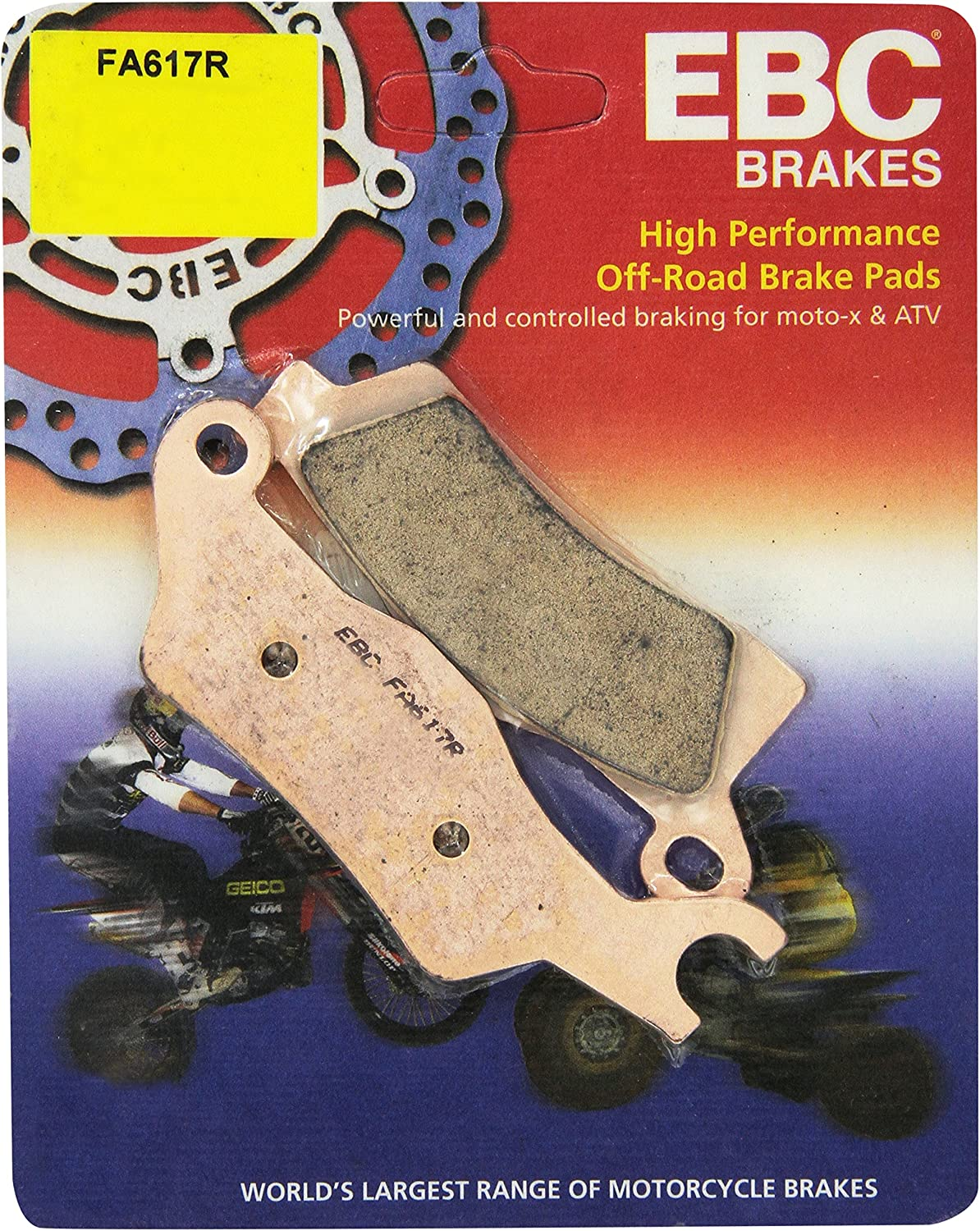 Maverick 1000 R XMR 14 EBC Brake Disc Rear Left SIDE X SIDE FIT CAN AM
