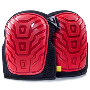 Kutir Professional Knee Pads - EASY TO WEAR Heavy Duty Memory Foam Padding
