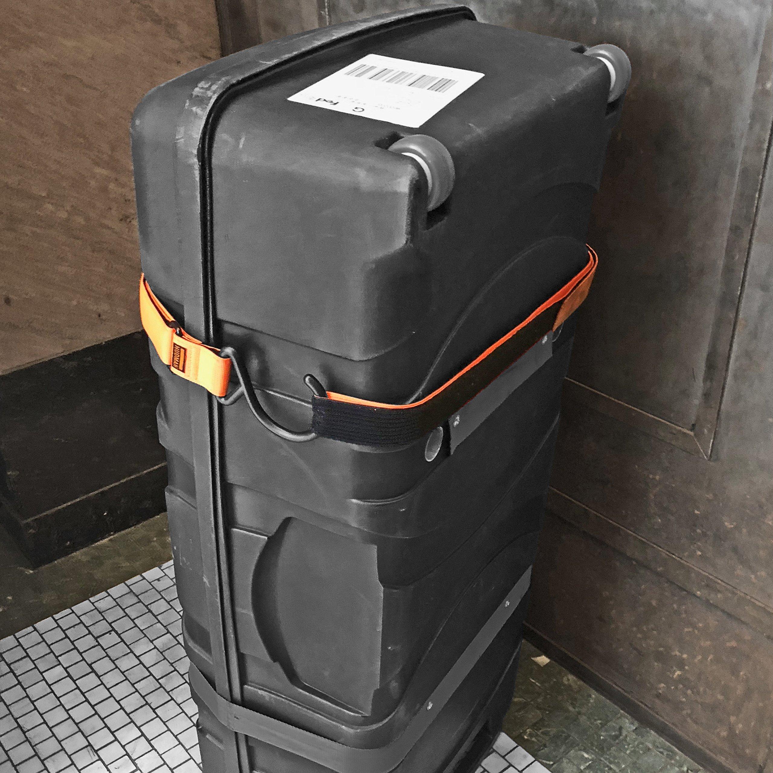 Hudman Works Strap & Hook XL, Bright Orange, 50''