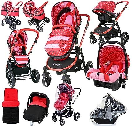 i-Safe sistema – lazo lunares Trio sistema de viaje Cochecito de bebé y silla
