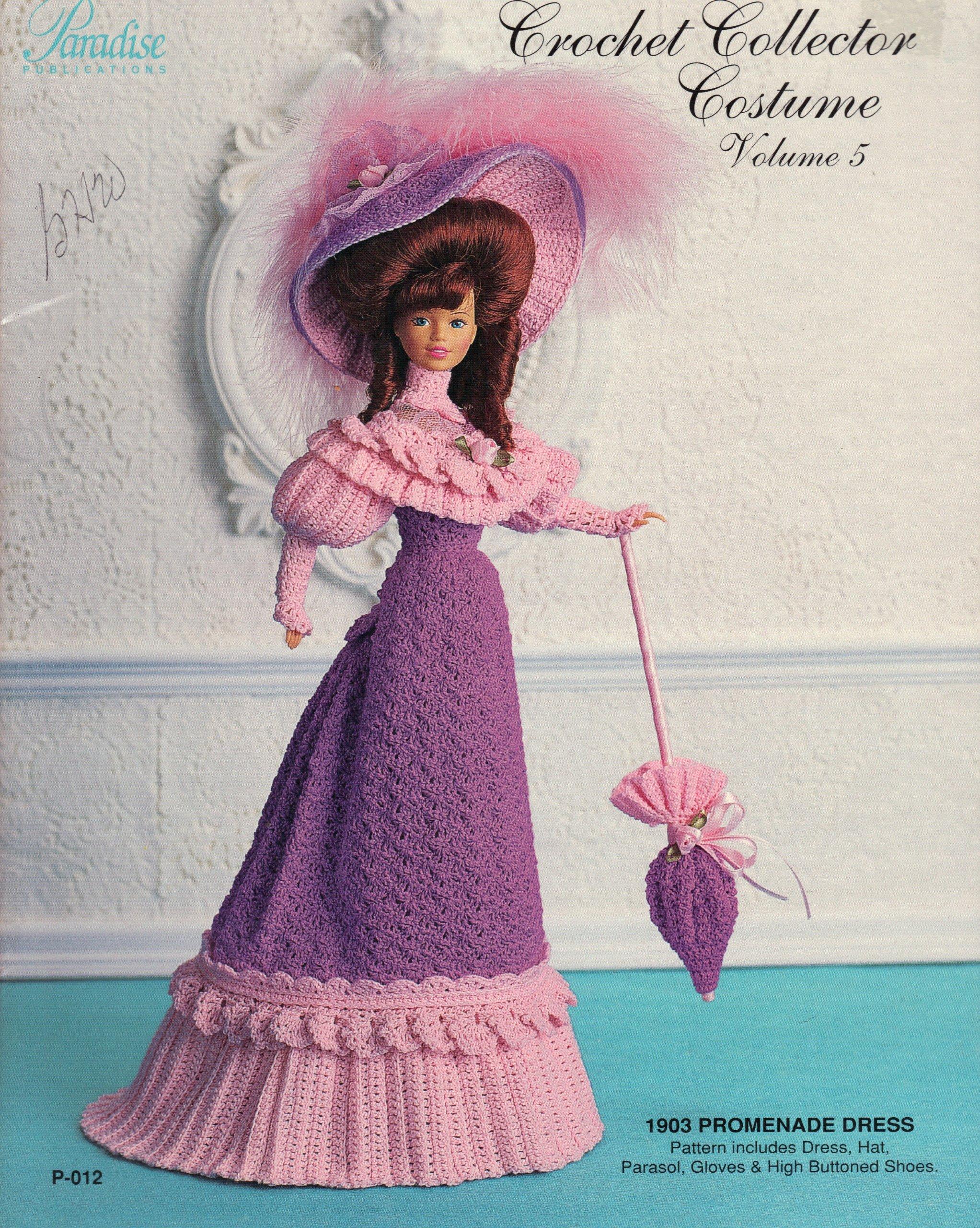 Crochet Collector Costume (1903 Promenade Dress, Vol. 5)