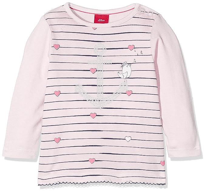 s.Oliver Baby-M/ädchen T-Shirt Langarm Langarmshirt