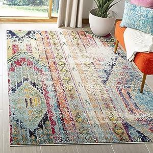 "Safavieh MNC222F-5 Monaco area-rugs, 5'1"" x 7'7"", Multi"
