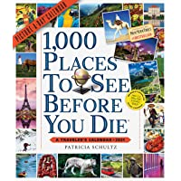 1,000 Places to See Before You Die Picture-A-Day Wall Calendar 2021