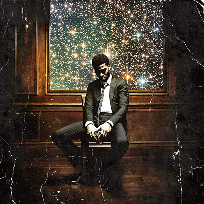 Youngpin Kid Cudi Man On The Moon II The Legend of Mr. Rager Art Poster Print,Unframed 20x20 Inches
