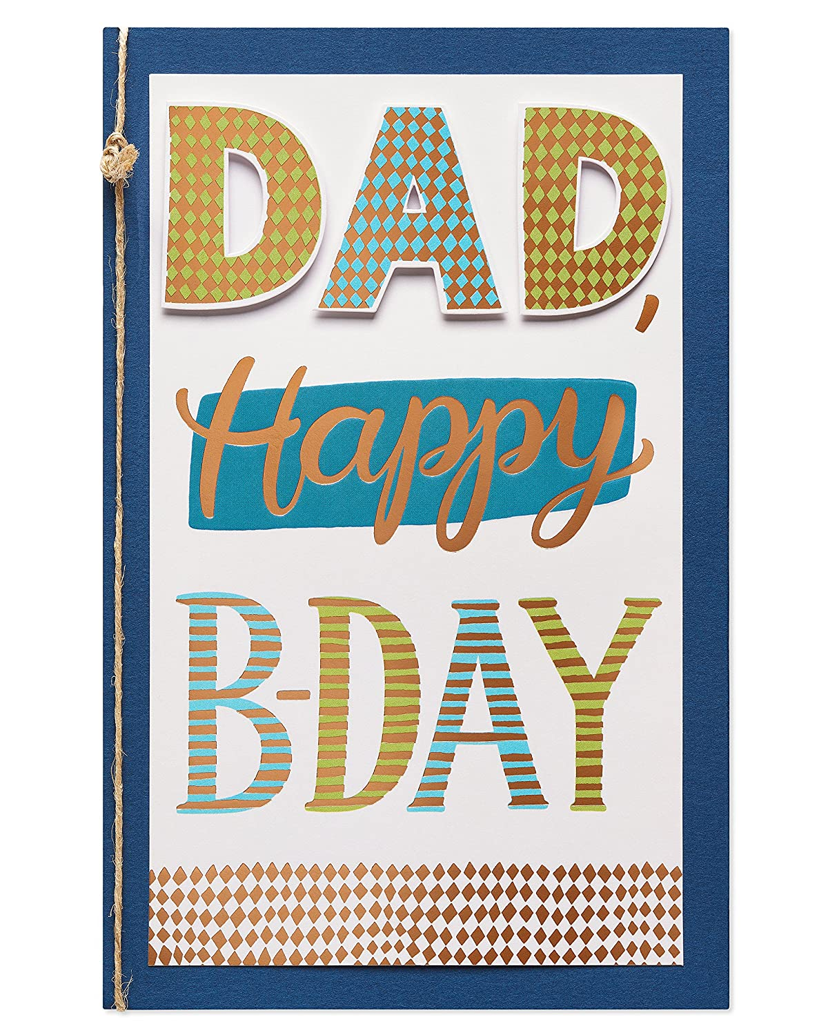 Amazon American Greetings Awesome Job Birthday Card For Dad