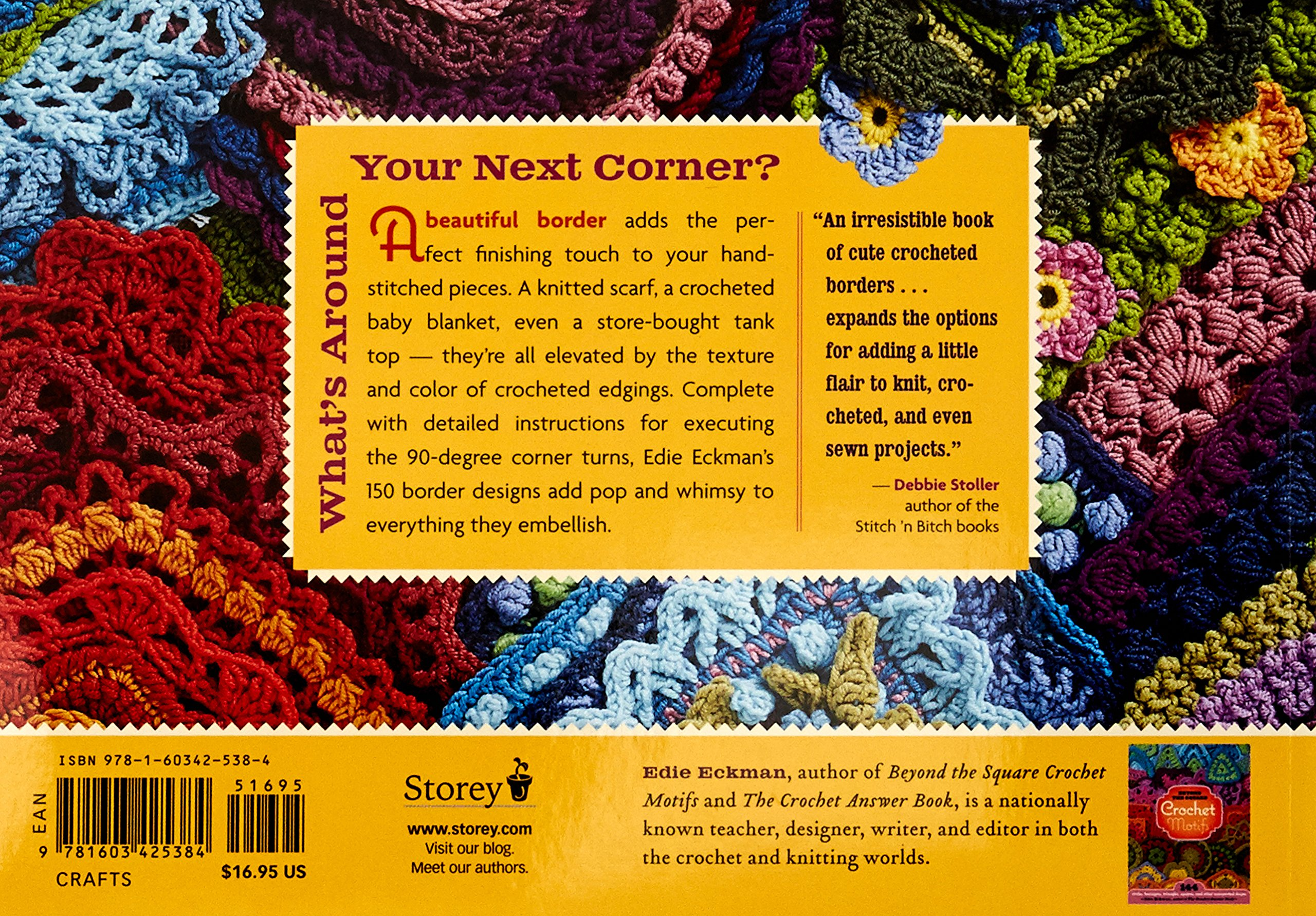 Corner around pdf the crochet borders