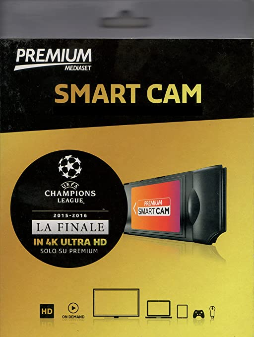 68 opinioni per Smart Cam HD WIFI Mediaset Premium Compatibile TV Led LCD Plasma