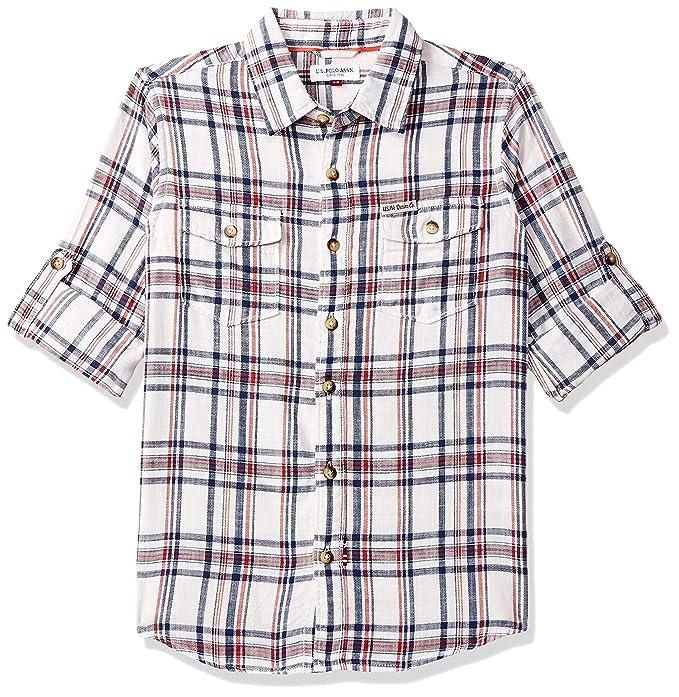 Baby Boy's Checkered Regular fit Shirt