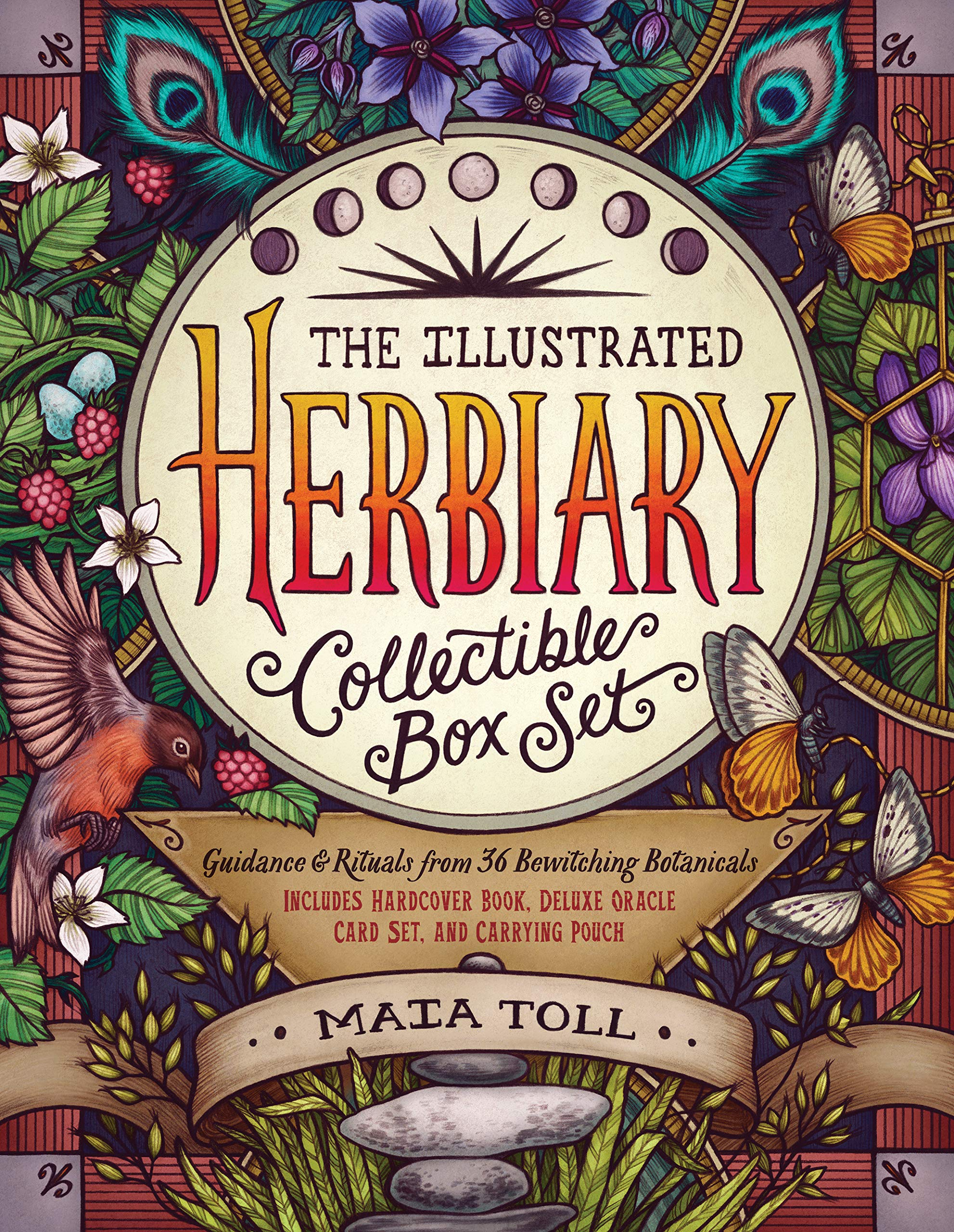 The Illustrated Herbiary Collectible Box Set: Guidance and Rituals from 36 Bewitching Botanicals; Includes Hardcover Book, Deluxe Oracle Card Set, and Carrying Pouch by Storey Publishing, LLC