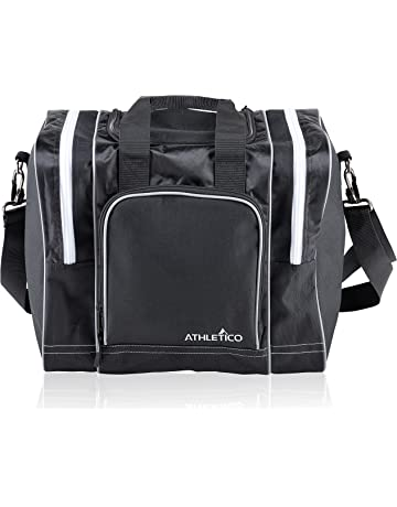 8ddeb76d75 Athletico Bowling Bag for Single Ball - Single Ball Tote Bag with Padded  Ball Holder -