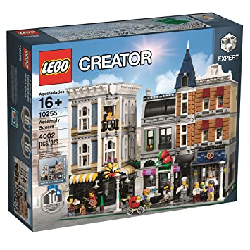 Lego Assembly Square 10255: Amazon.co.uk: Toys & Games