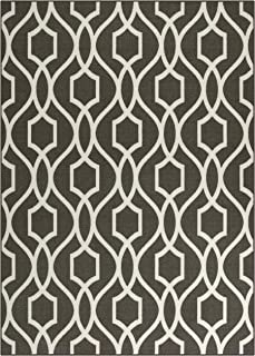 product image for Maples Rugs 7 x 10 Non Slip Large Area Rugs [Made in USA] for Living Room, Bedroom, and Dining Room, Dove/Neutral