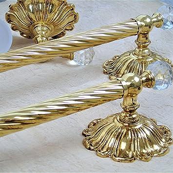 Accessori bagno in oro for Accessori bagno dorati