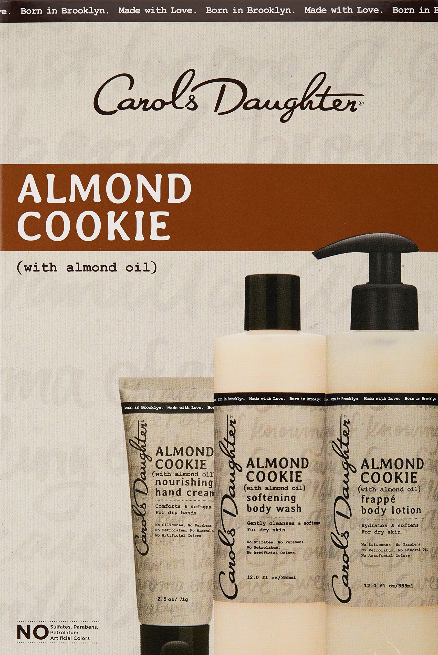 Carols Daughter Almond Cookie Body Gift Set for Dry Skin by Carol's Daughter (Image #3)