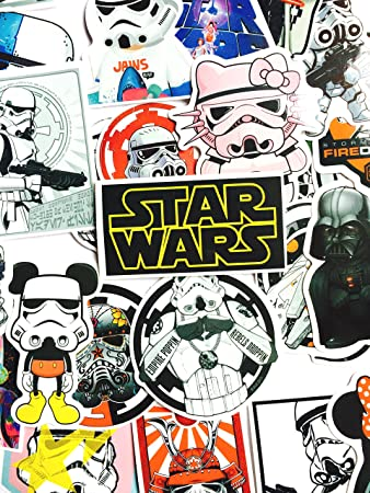 Star wars sticker bomb pack 25 stickers sticker decal sticker decals laptop skate