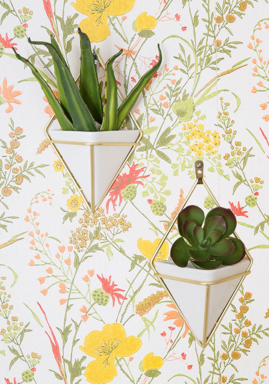 Exemplary Contemporary Vase Set in Gold | Mod Retro Vintage Decor Accessories | ModCloth.com