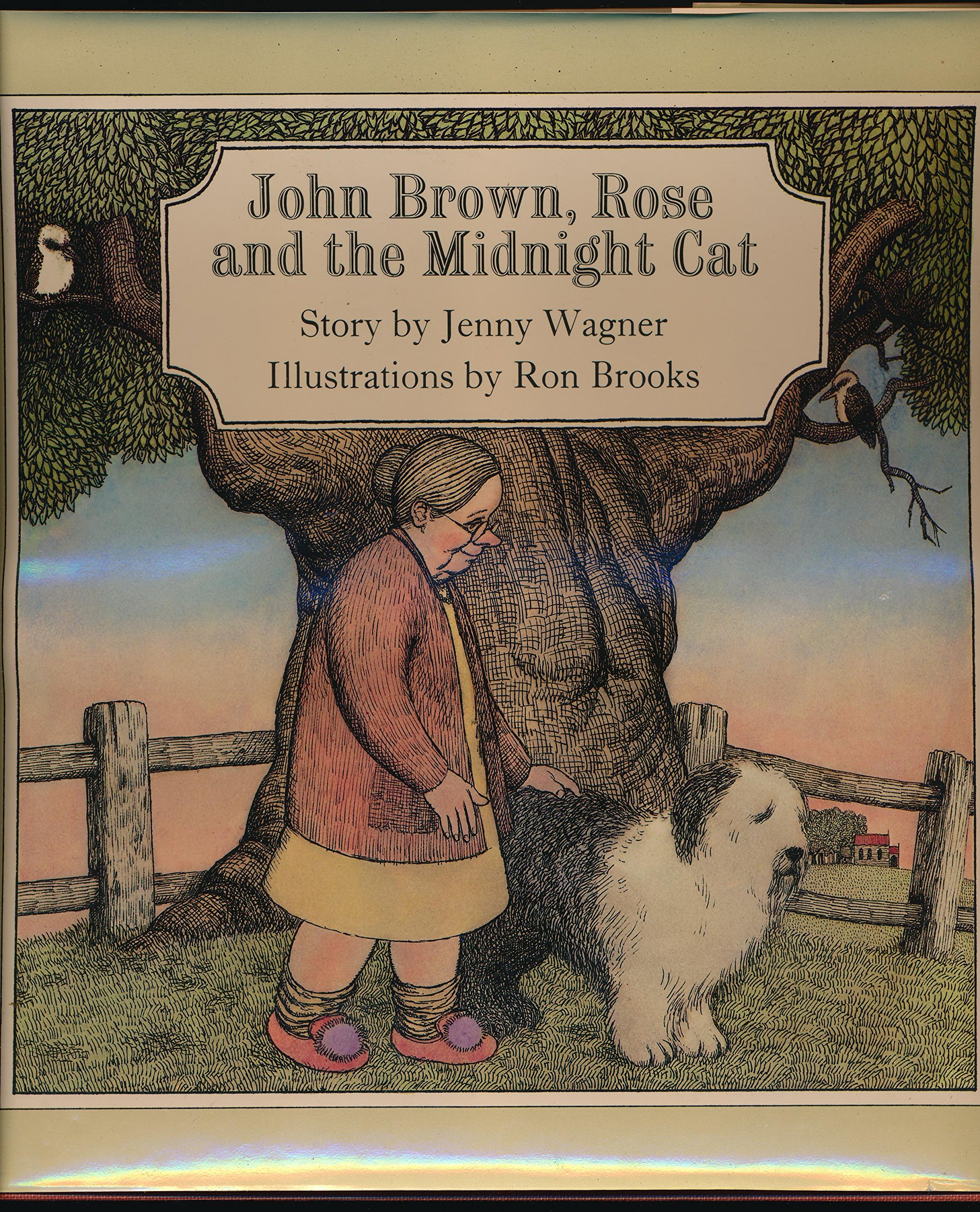 John Brown, Rose, and the Midnight Cat: Jenny Wagner: 9780878881208 ...