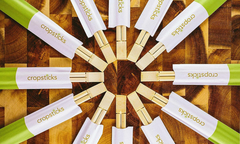 Bamboo Chopsticks - Cropsticks From Shark Tank Multi Packs (10)