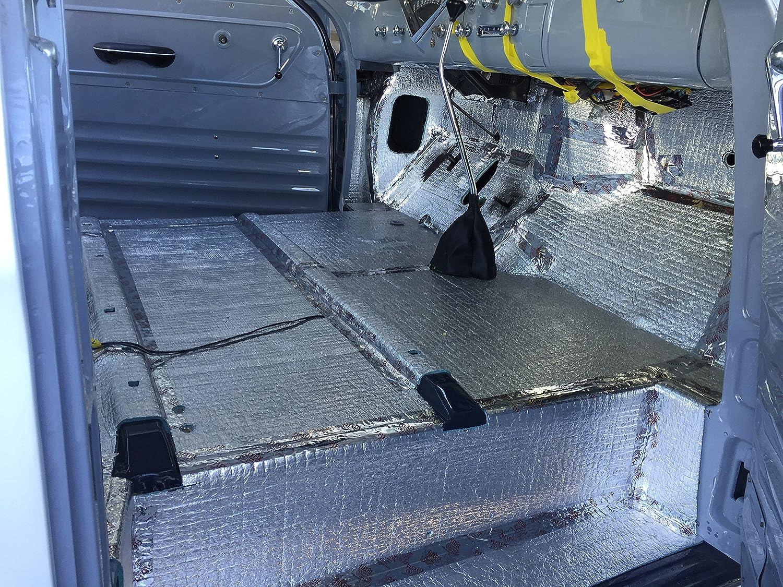 4 x 10 Roll Sound Deadener /& Heat Barrier Mat Car Insulation Automotive Lightweight Thermal Insulation 40 Sqft