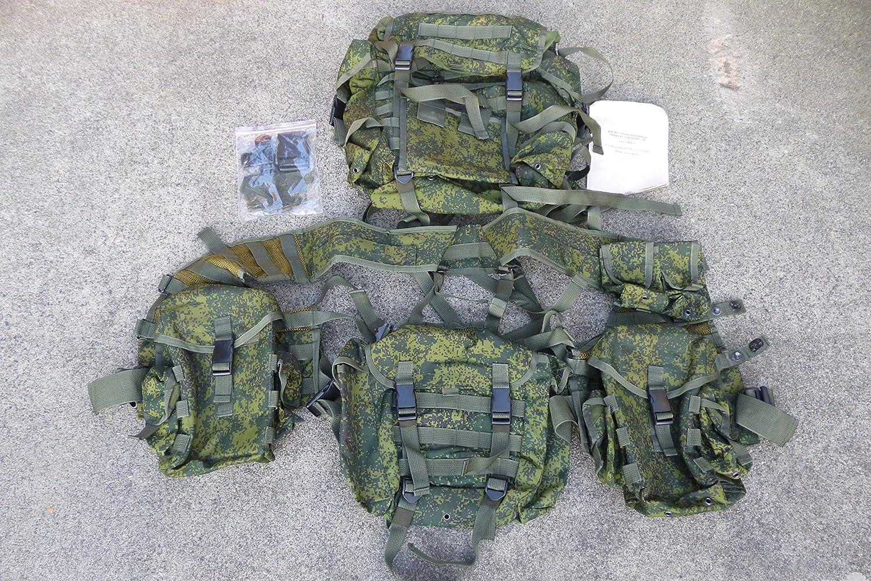 現代ロシア軍6sh112ベストフルセット 軽機関銃タイプ 実物/デジタルフローラ FSB クリミア ВДВ ゲームで使える「日本語発音で対応する現代軍事ロシア語集」付き B00WDAKEME