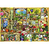 ced1095327e9 Amazon.com: Wentworth Wish Upon A Bookshop 500 Piece Wooden Jigsaw ...