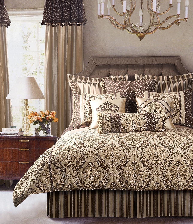 Jennifer Taylor 9 Pcs Comforter Set, Full size, BRODERICK Collection