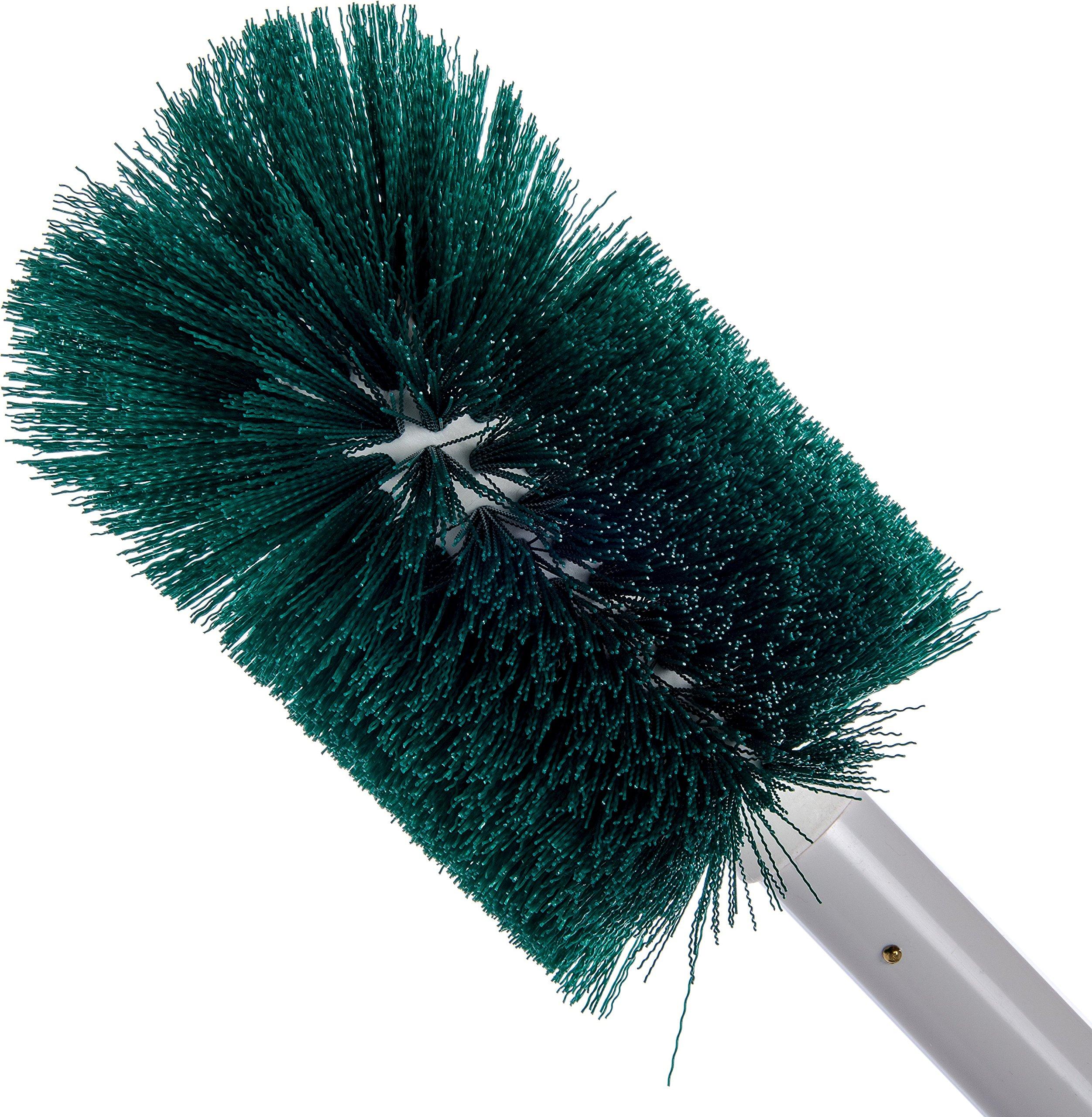 Carlisle 4000309 Multi-Purpose Oval Valve Brush, 3.5'' x 5'' Polyester Bristles, 30'' Length, Green by Carlisle (Image #3)