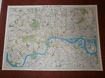Amazon cavallini co london map decorative decoupage london map decorative decoupage poster wrapping paper sheet gumiabroncs Choice Image