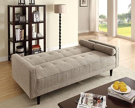 Amazon.com: major-q Convertible/ajustable futón sofá sofá ...