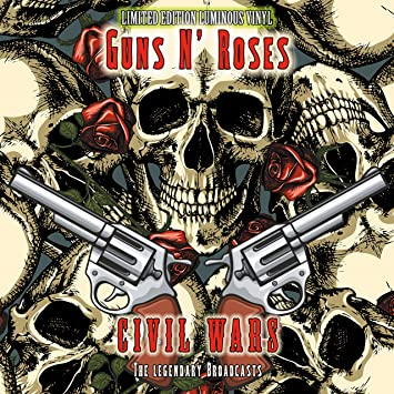 Guns N Roses Civil Wars Luminous Colour Vinyl 1 Lp