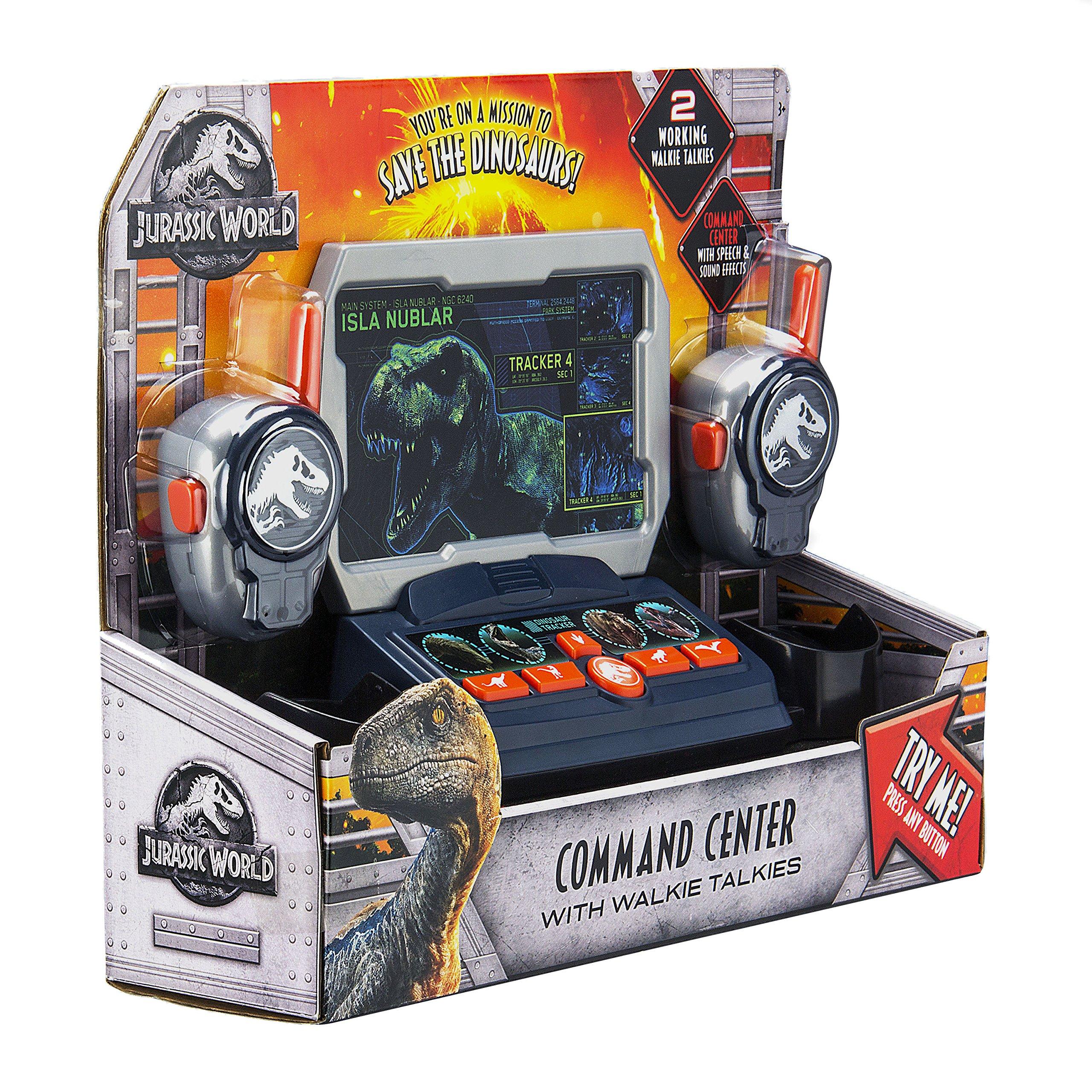 eKids Jurassic World 2 Command Center with Kid Friendly Walkie Talkies and Speech & Sound Effects by eKids (Image #7)