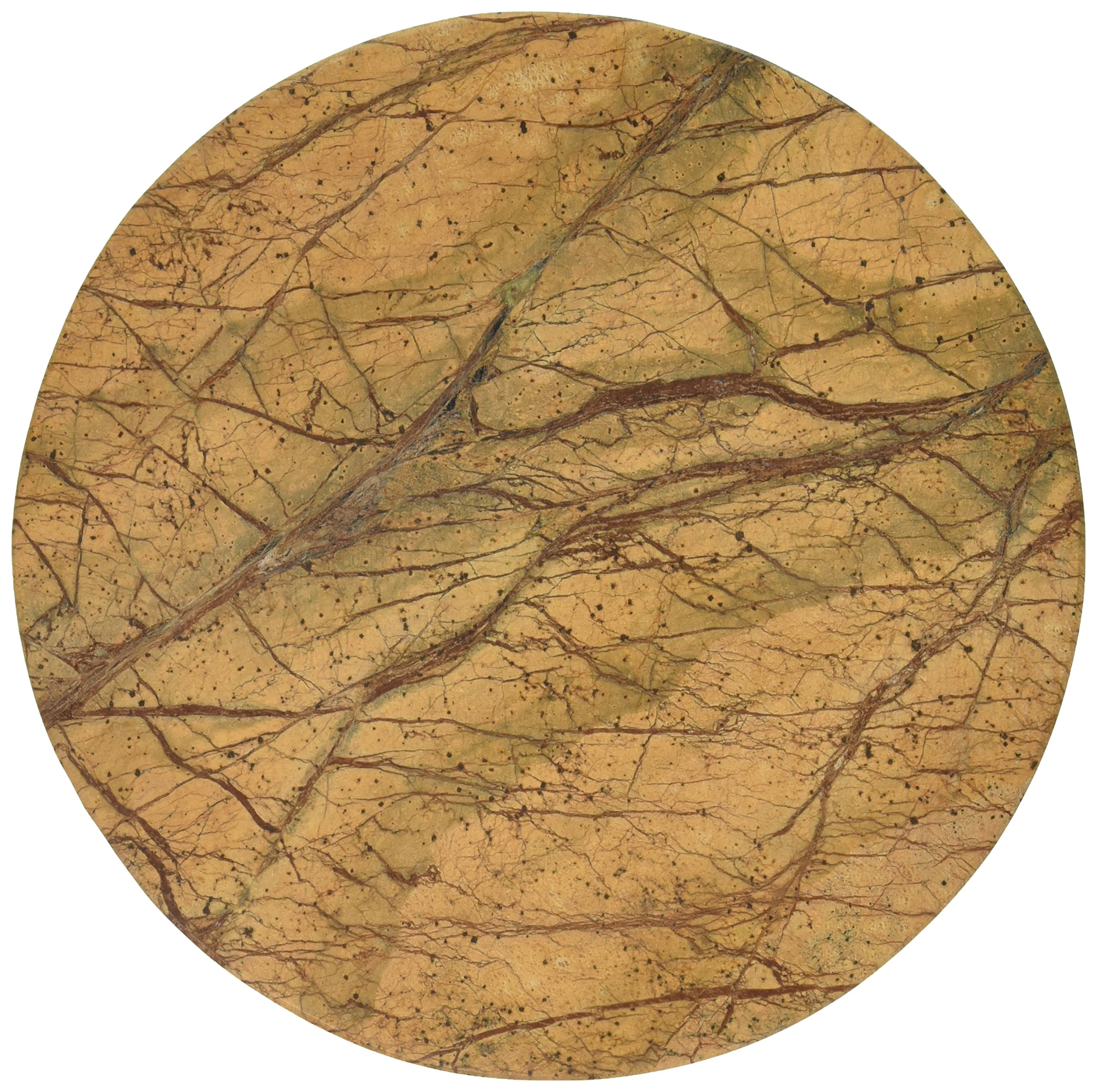 Thirstystone Round Rainforest Marble Trivet by Thirstystone