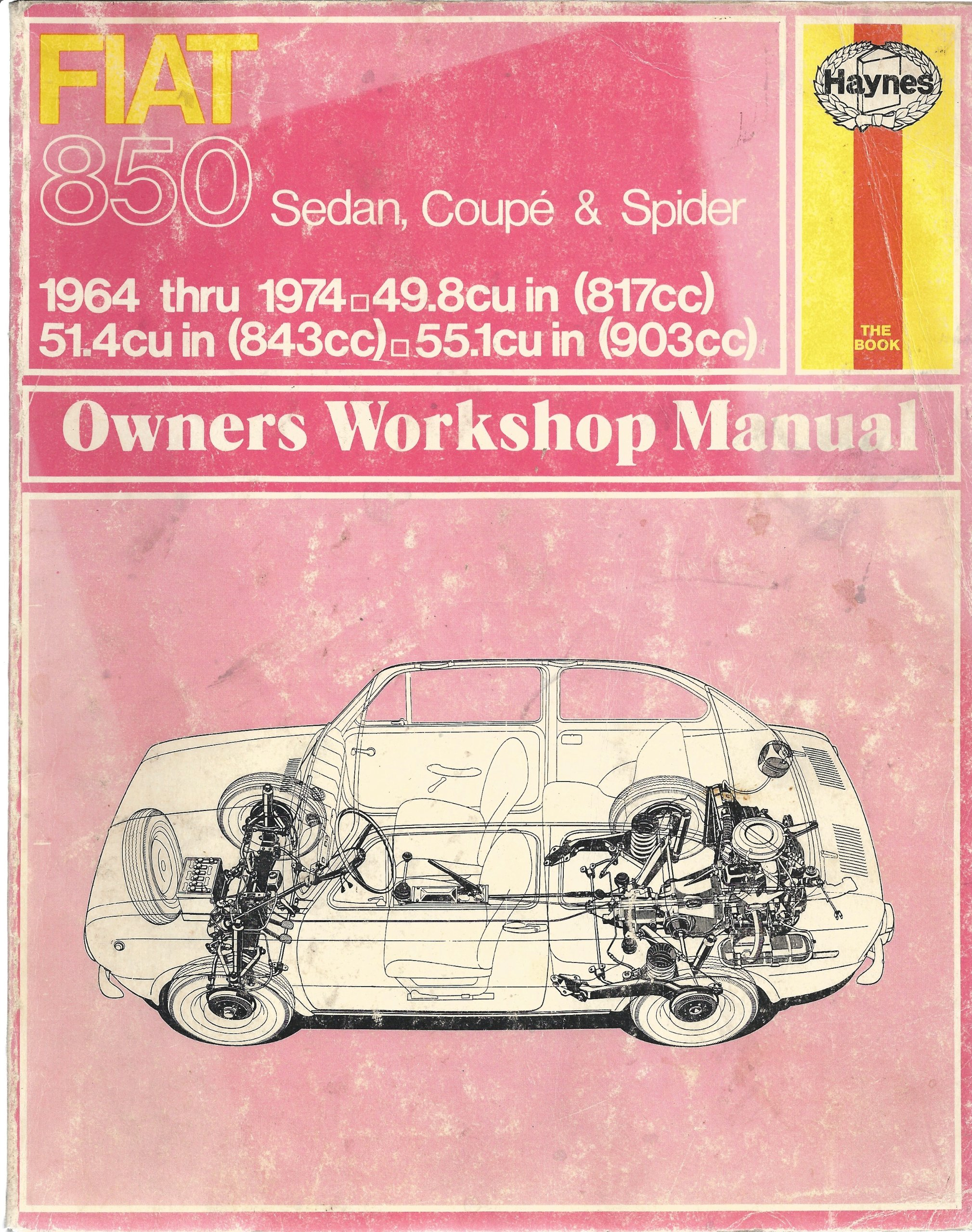 Fiat 850 Owner's Workshop Manual: J. H. Haynes, B.L.Chalmers- Hunt:  9780900550386: Amazon.com: Books