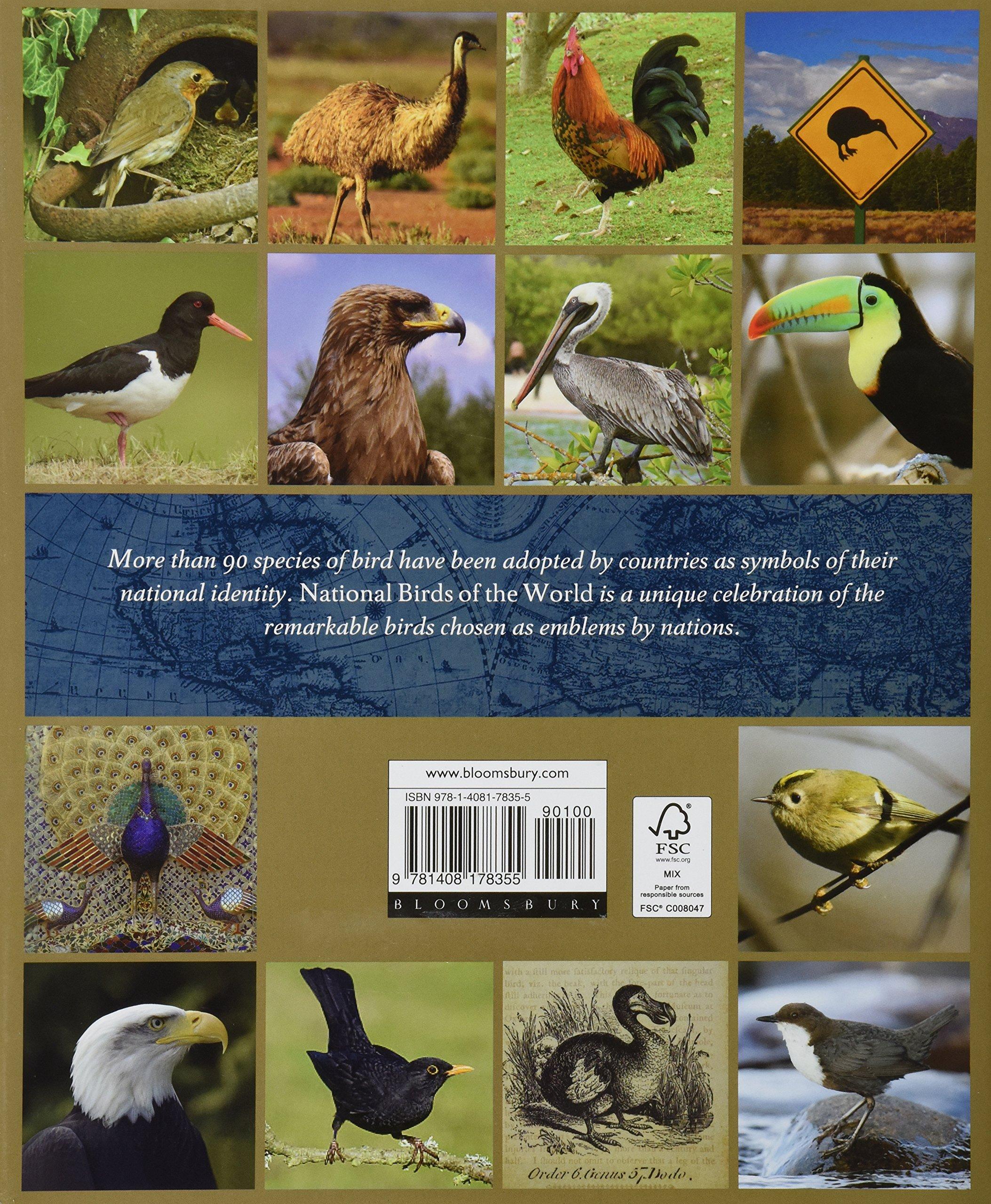 National Birds Of The World Ron Toft 9781408178355 Amazon Books