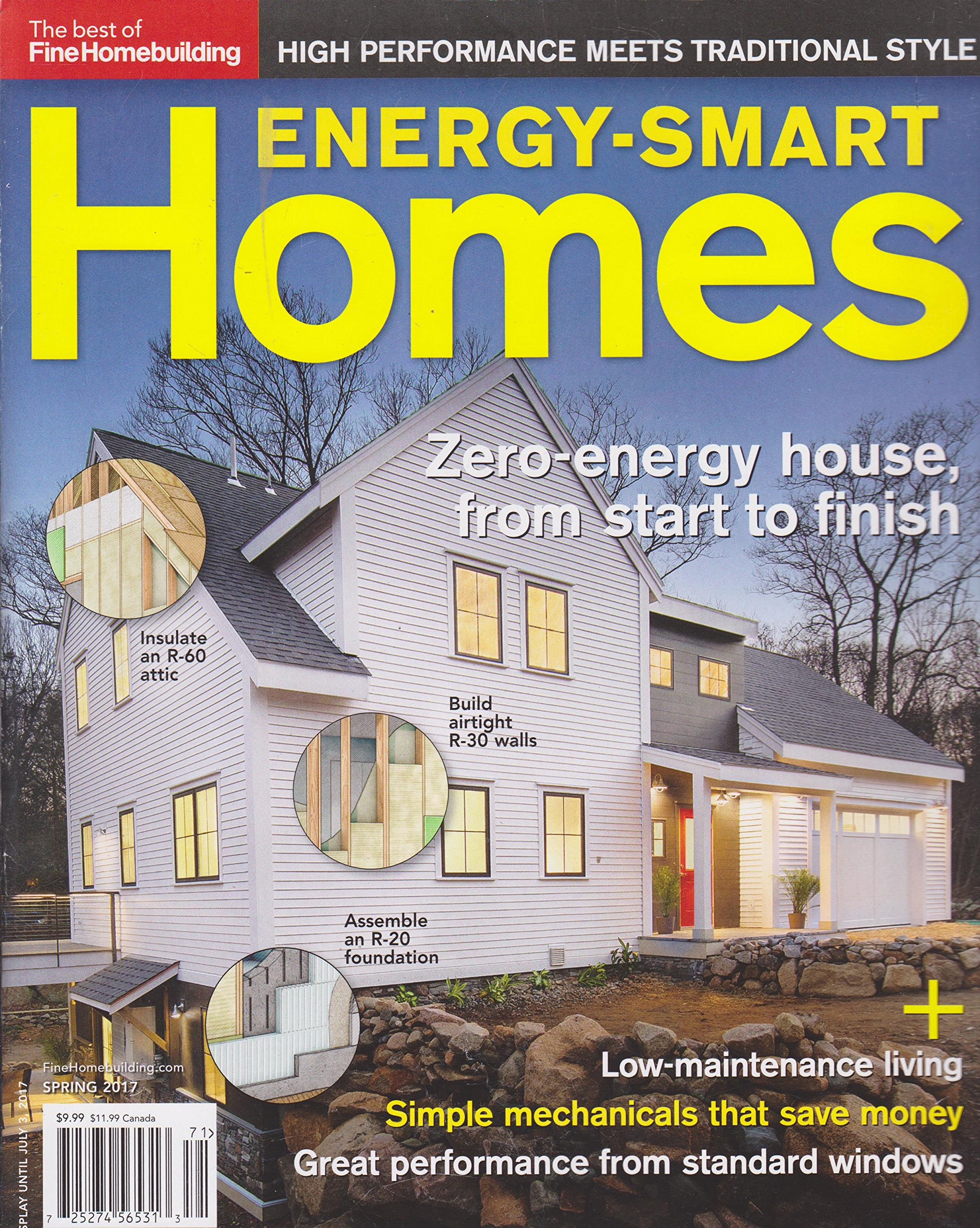Homebuilding Magazine Energy Smart Spring product image