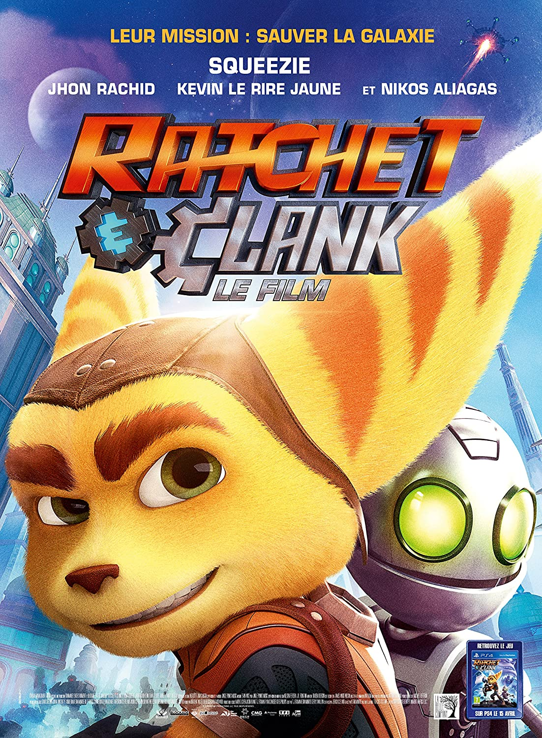 Ratchet & Clank Blu-ray 3D
