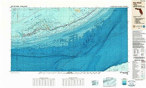 Amazon Com Yellowmaps Key West Fl Topo Map 1 250000 Scale 1 X 2