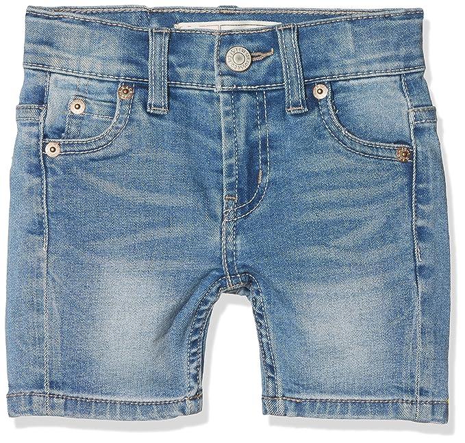 Levis Bermudas, Pantalones para Niños, Azul (Indigo 46), 3 años