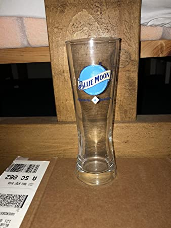Blue Moon Glasses CE 12oz / 330ml Half Pint (Set of 2