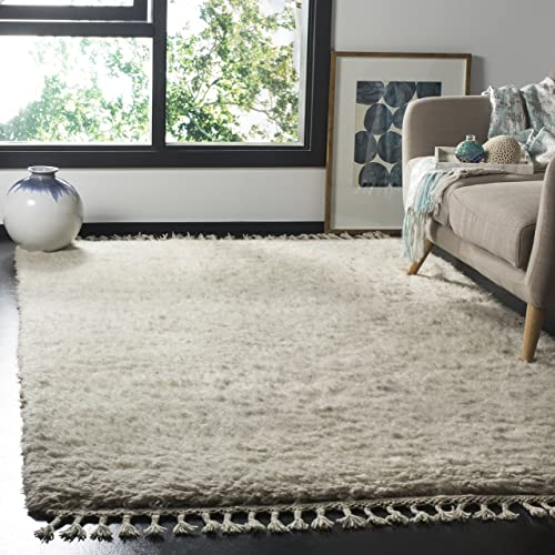 Safavieh Casablanca Collection Abstract Area Rug, 4 x 6 , Grey