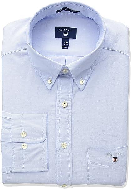 GANT The Oxford Shirt Reg BD Camisa para Hombre: Amazon.es: Ropa y accesorios