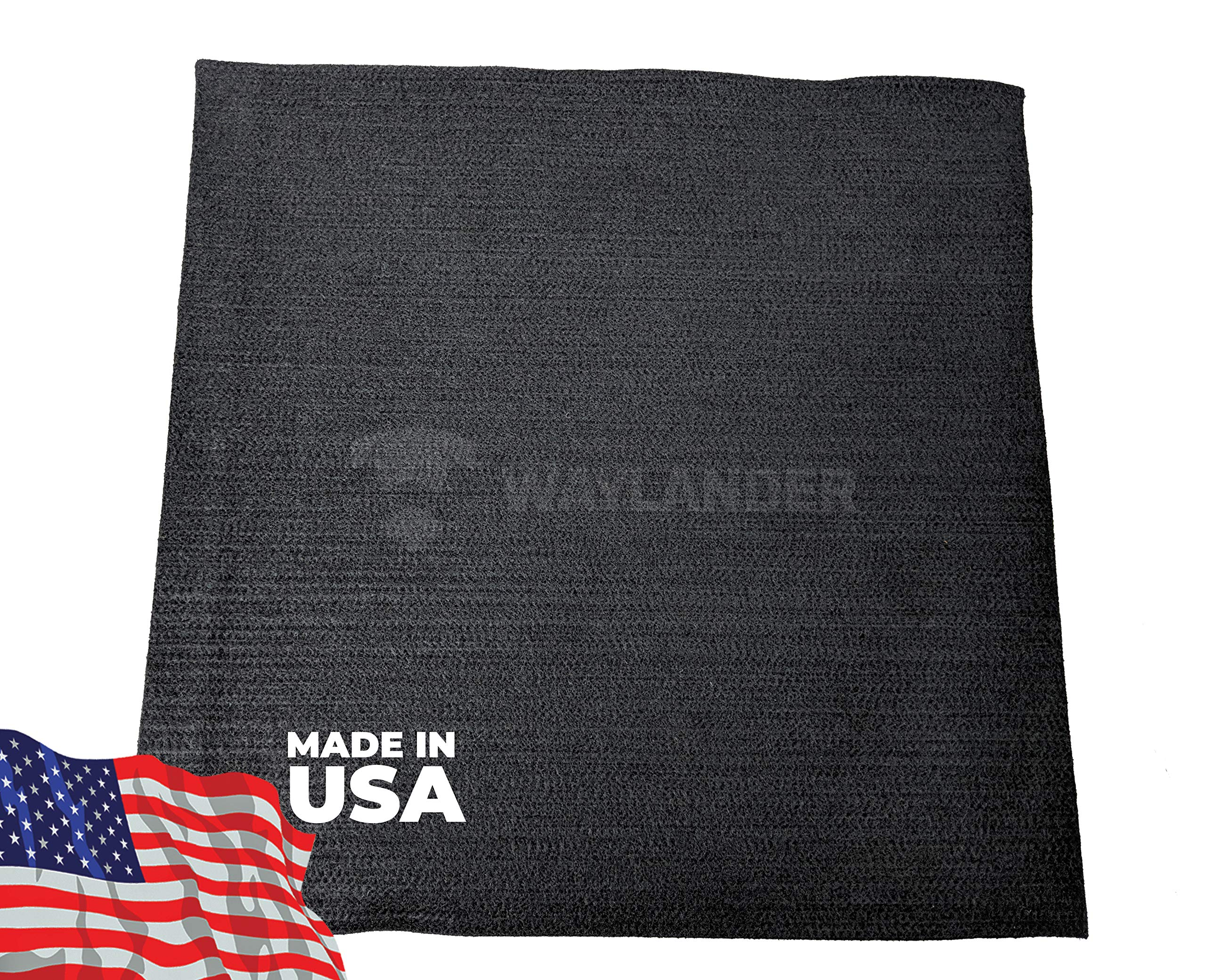Waylander Welding Felt Carbon Fiber Blanket 3'x3' Made in USA 1800°F High Temperature Resistant