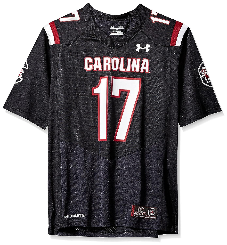 Under Armour NCAA South Carolina Fighting Gamecocks FG204250B12 Childrens Official Sideline Jersey Medium Black