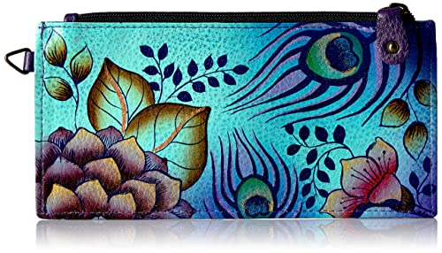 Anna By Anuschka, Handpainted Leather Organizer Wallet