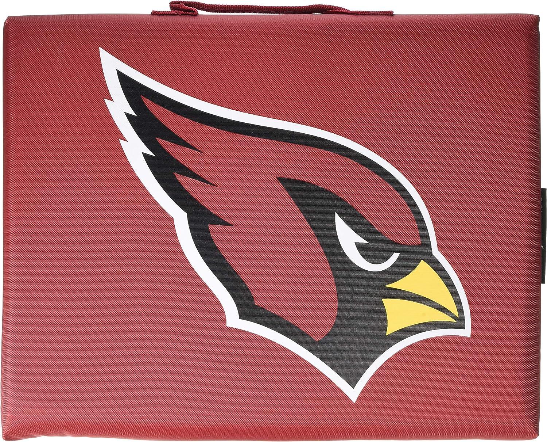 NFL Arizona Cardinals Unisex Logo Brands Arizona Cardinals Bleacher CushionLogo Brands Arizona Cardinals Bleacher Cushion One Size Multi