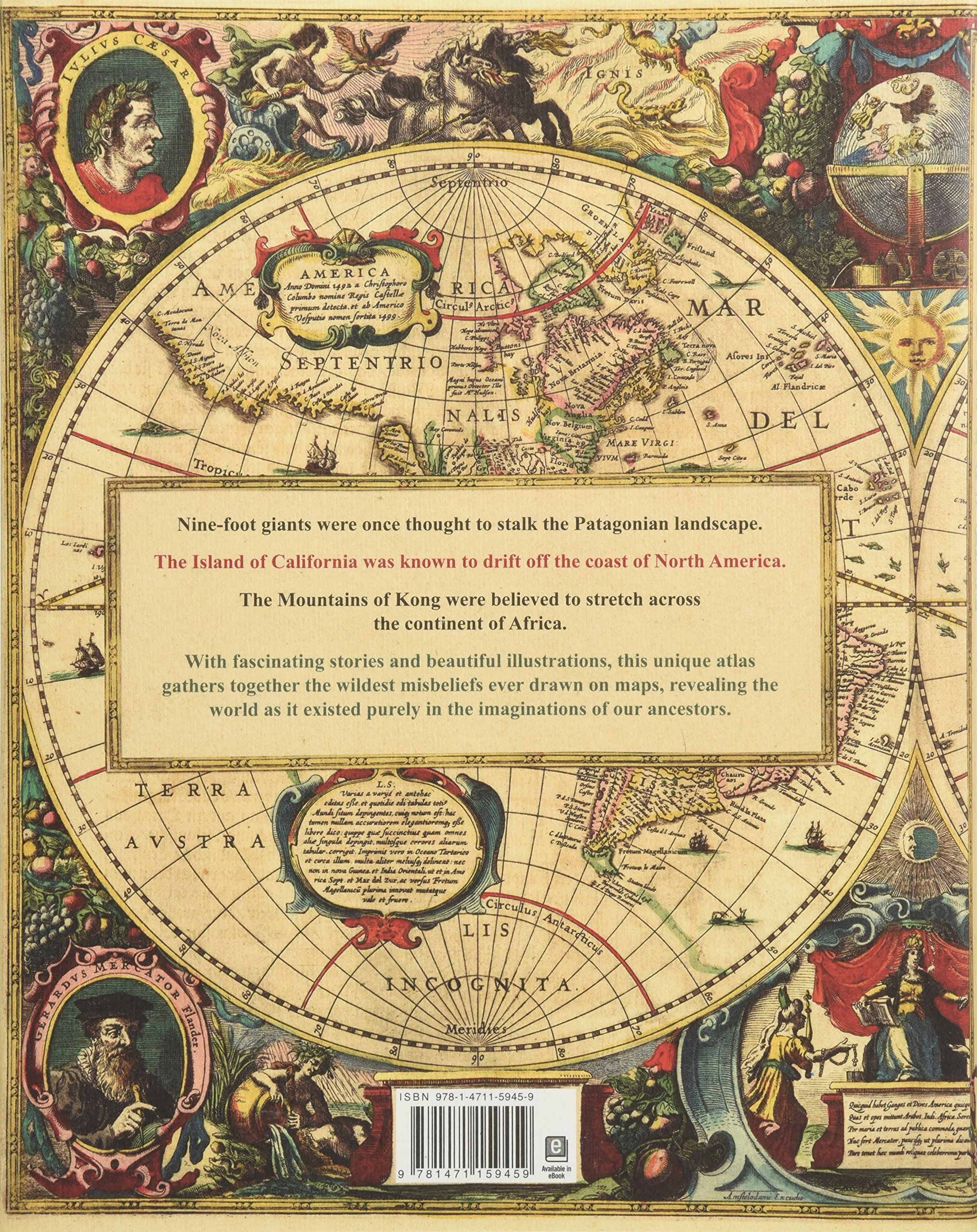 Tomtom Australia Map 945.The Phantom Atlas The Greatest Myths Lies And Blunders On Maps