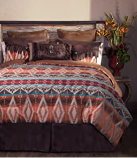 FREE SHIPPING Canyon View 5 Piece Comforter Set with Drapes Option