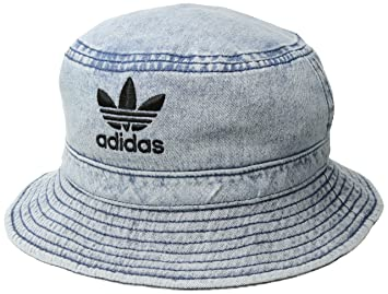 c4d37a22e82 Image Unavailable. Image not available for. Colour  adidas Originals Denim Bucket  Hat ...