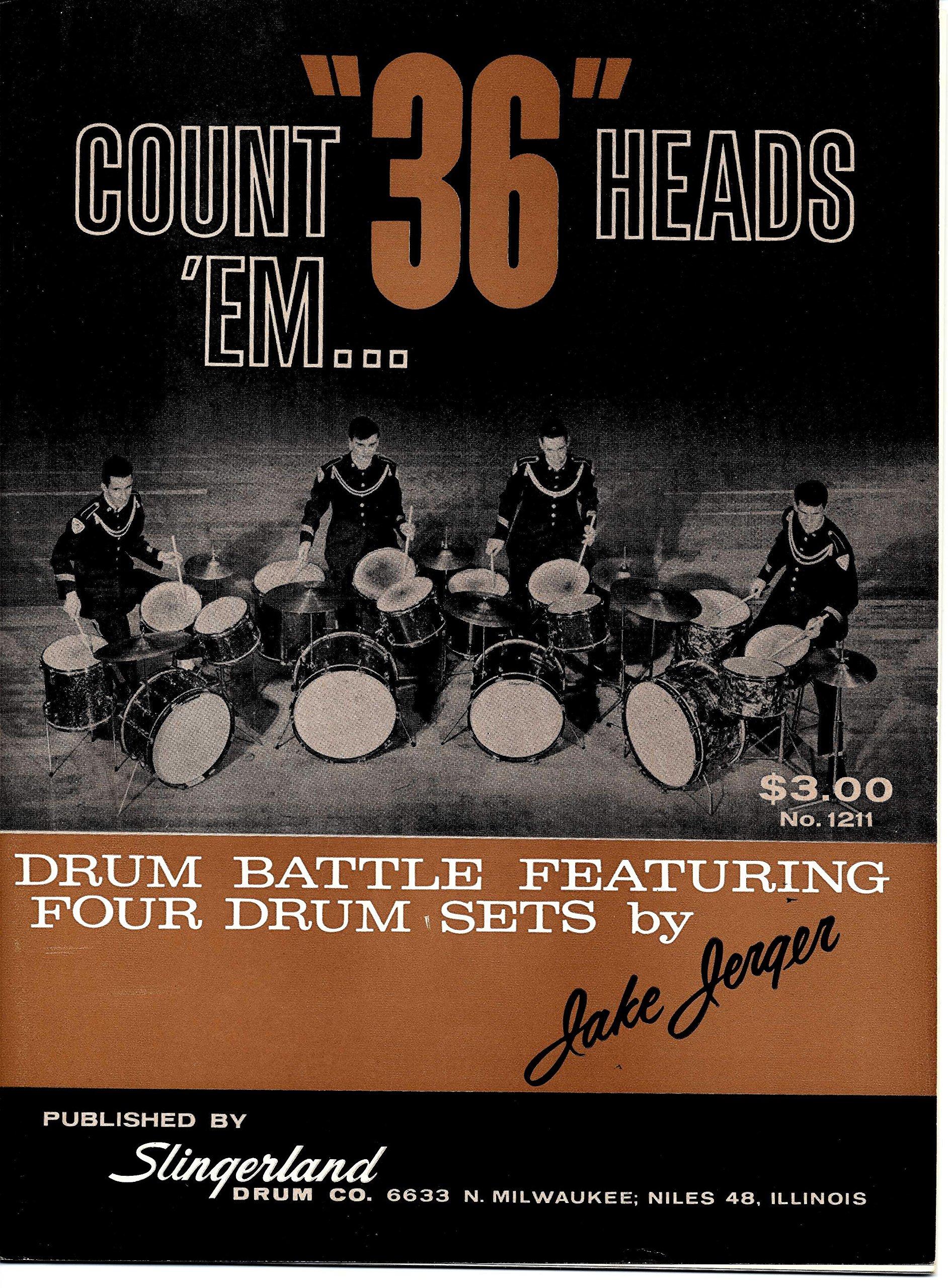 Count em... 36 Heads (drum battle featuring four drum sets)